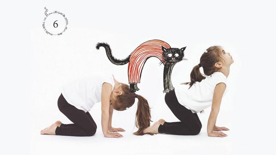 Семейна йога – забавно и полезно време заедно