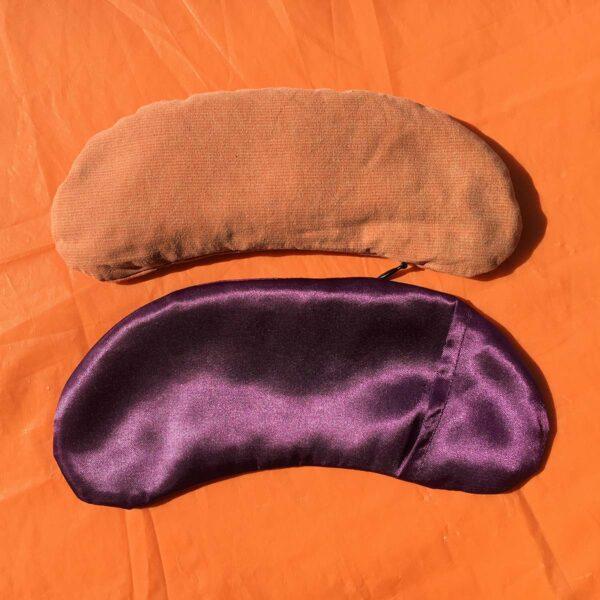Възглавница за очи с лавандула и ленено семе