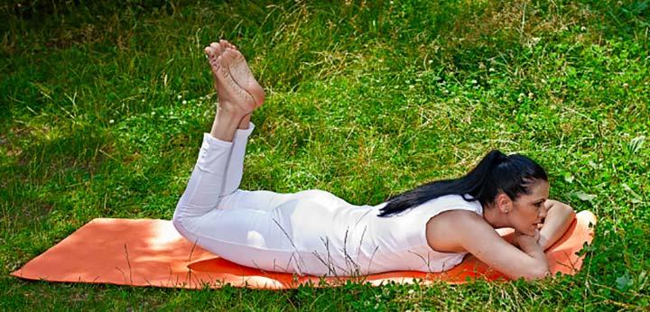 Стегнато дупе само с четири упражнения от йога