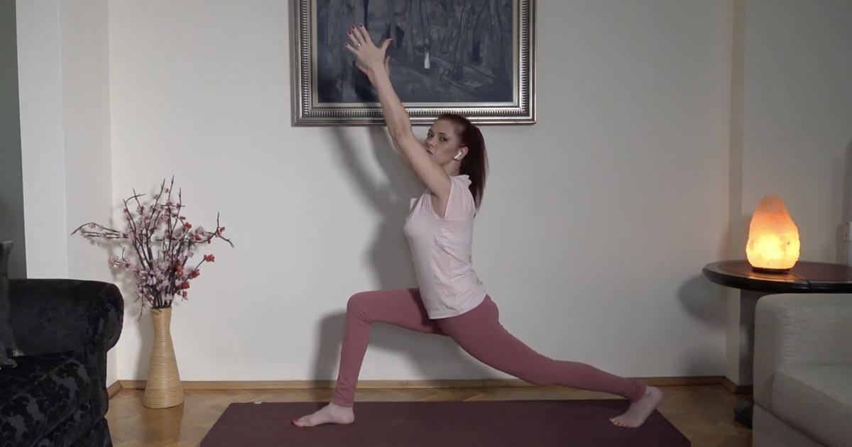 Zoom йога - 11 декември 2020 - Slow flow vinyasa - (продължителност 43 минути)