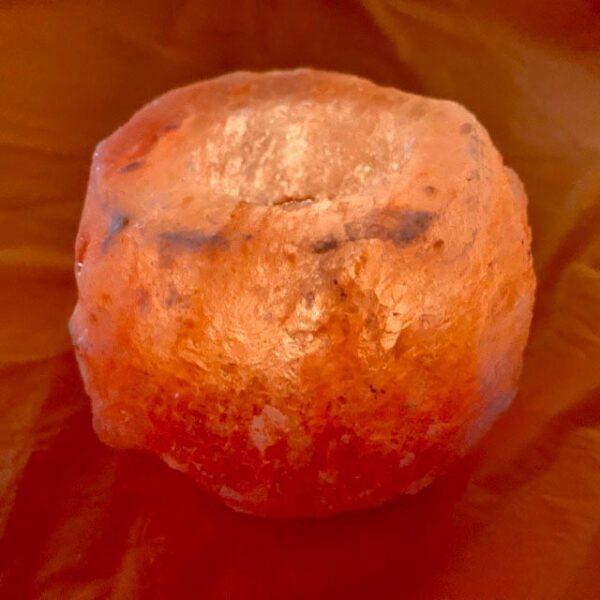 Свещник от хималайска сол