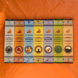 Комплект – 7 пакета Аюрведични ароматни пръчици